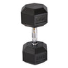 Elite Home Workout 2 x 20KG Hex Dumbbells (Pair)