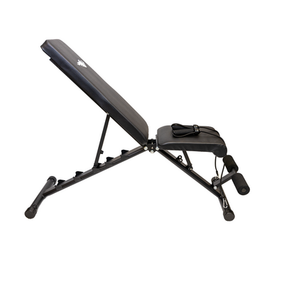 Elite Home Workout Adjustable Utility Foldable Weight Bench
