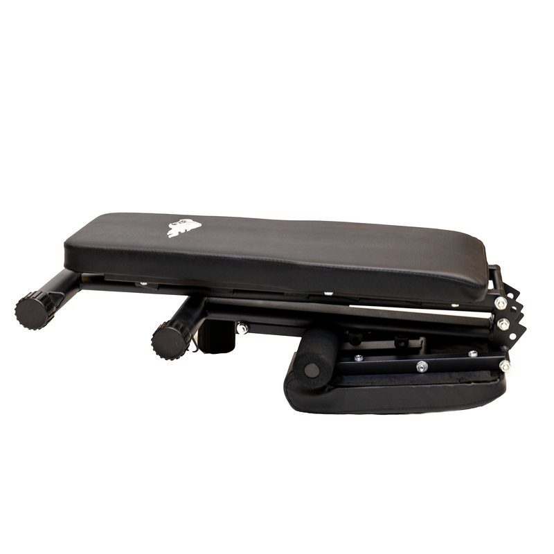 PREORDER END OF MARCH DELIVERY - Elite Home Workout Adjustable Utility Foldable Weight Bench