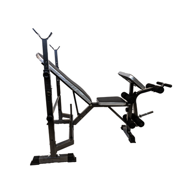Elite Home Workout All in One Fitness Bench - Incline/Decline/Preacher/Leg Curl