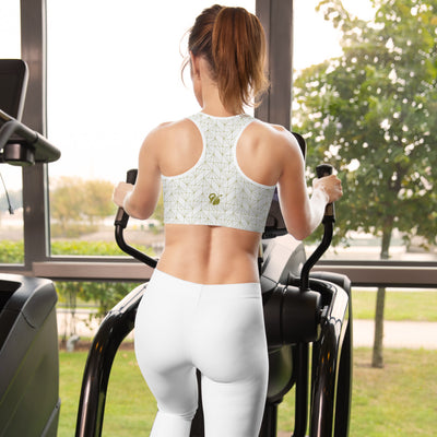 EHW Gatsby Sports Bra - White