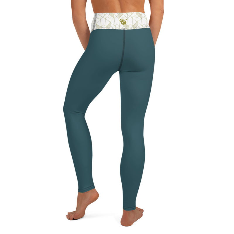 "EHW Gatsby ""Jordan"" Yoga Leggings - Green"