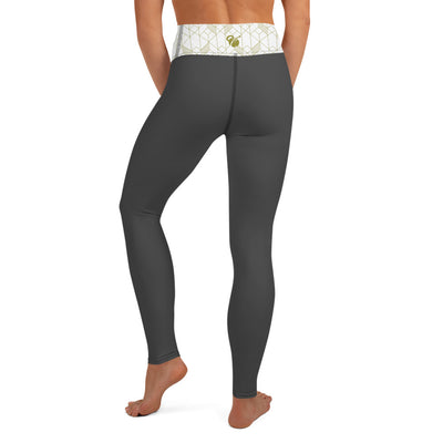 "EHW Gatsby ""Jordan"" Yoga Leggings - Grey"