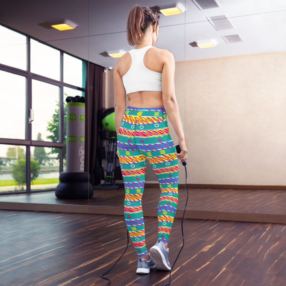 EHW 80s 1982 Yoga Leggings
