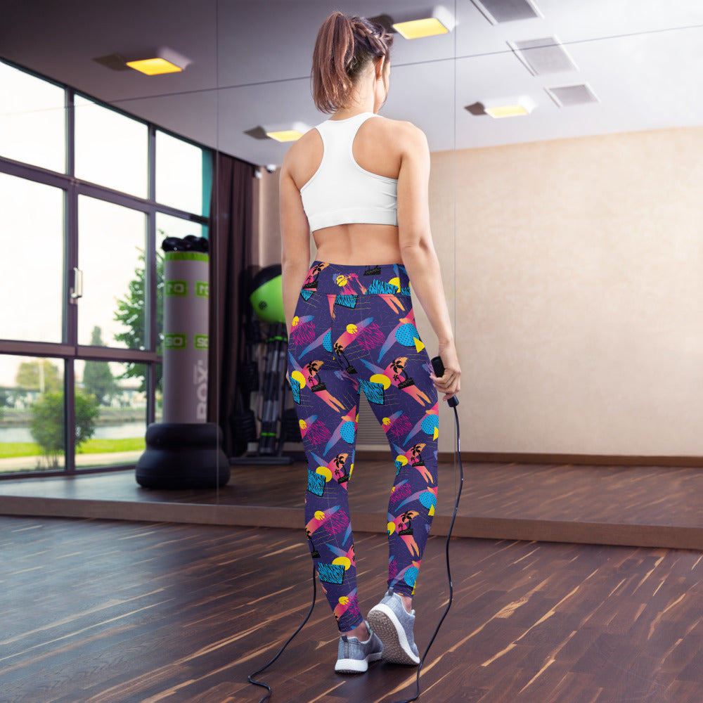 EHW 80s 1983 Yoga Leggings