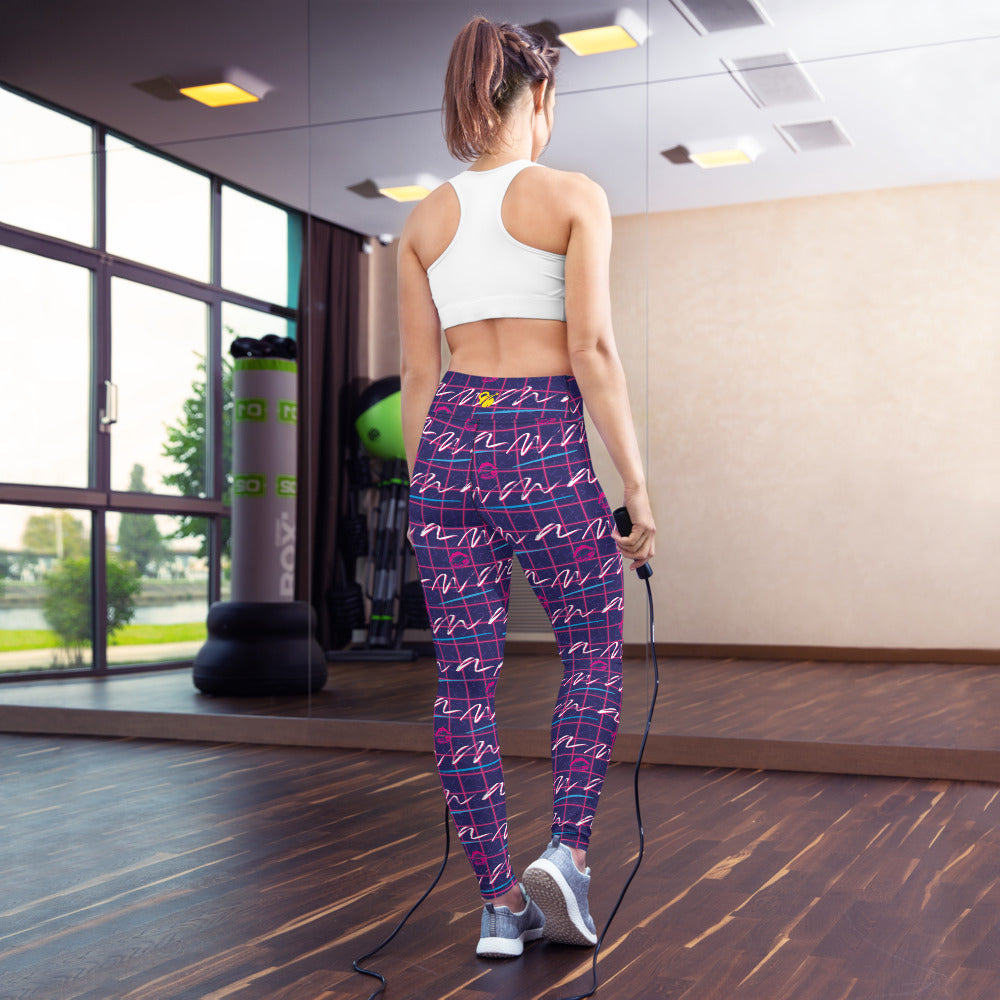 EHW 80s 1985 Yoga Leggings