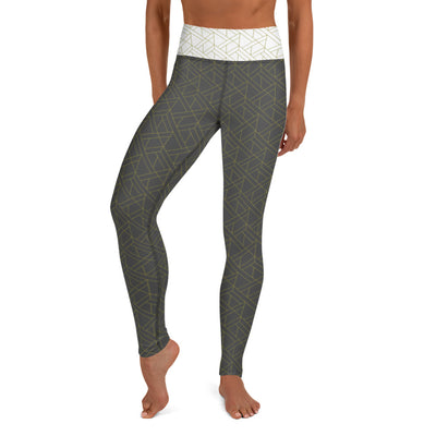 "EHW Gatsby ""Jay"" Yoga Leggings - Grey"