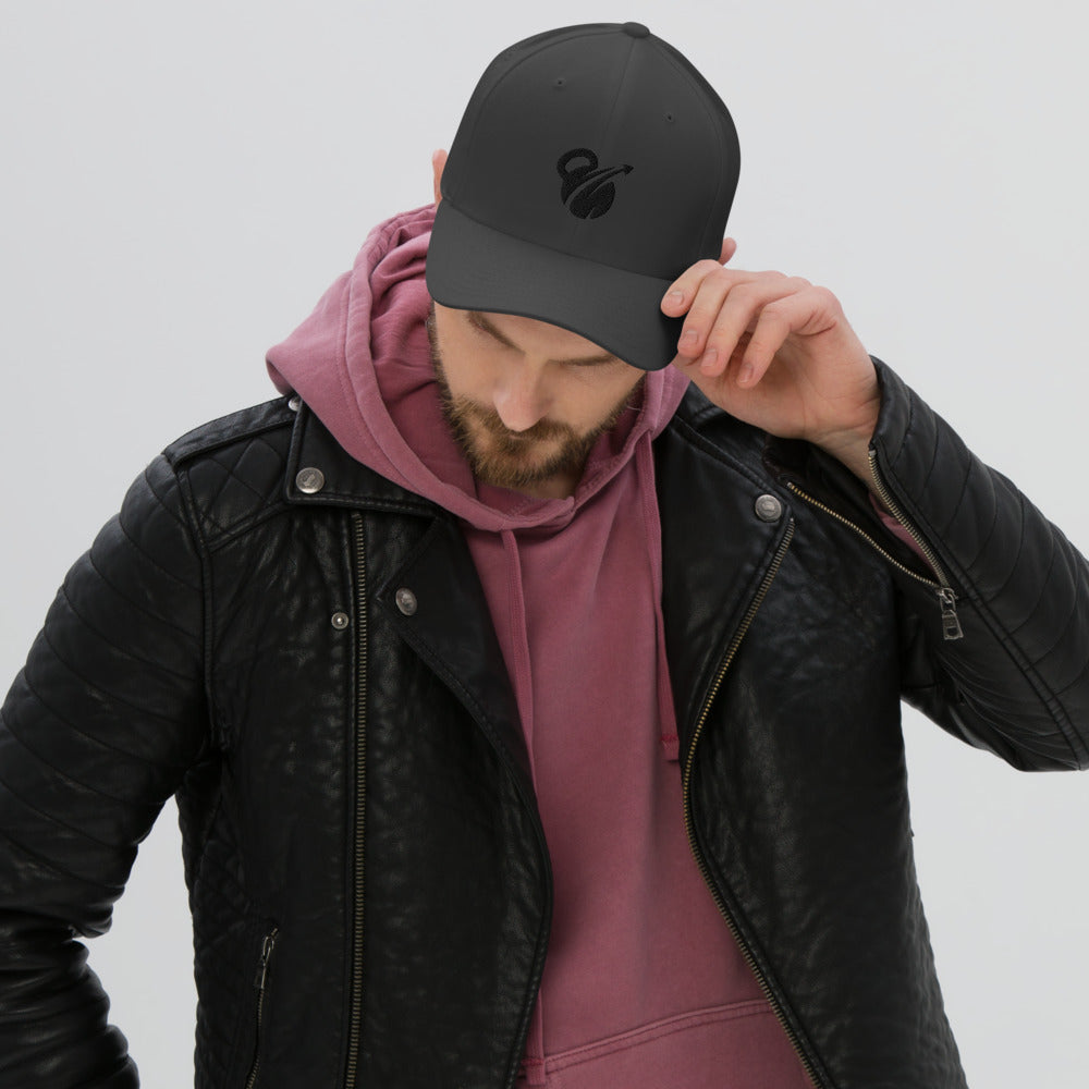 EHW Black Label Fitted Performance Cap