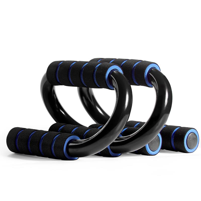 Deluxe Push Up Bars - Black/Blue