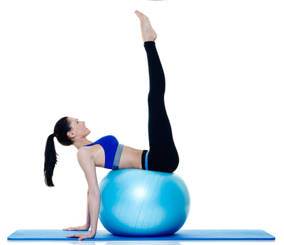 Exercise Gym Ball - 75cm Grey