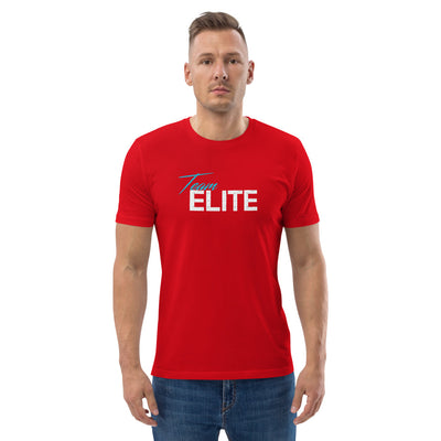 EHW Team Elite Organic White Print T-Shirt