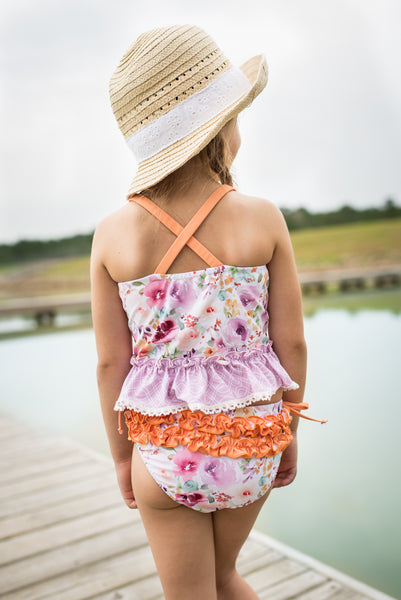 Selah Tankini Swimsuit - Wildflower