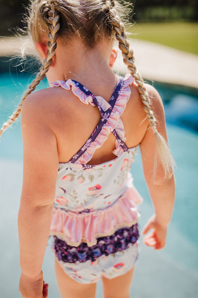 Selah Tankini Swimsuit - Moonlit Path