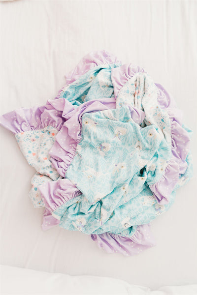 Cottontail Farms Ruffle Blanket - Extra Large (Pre-Sale)