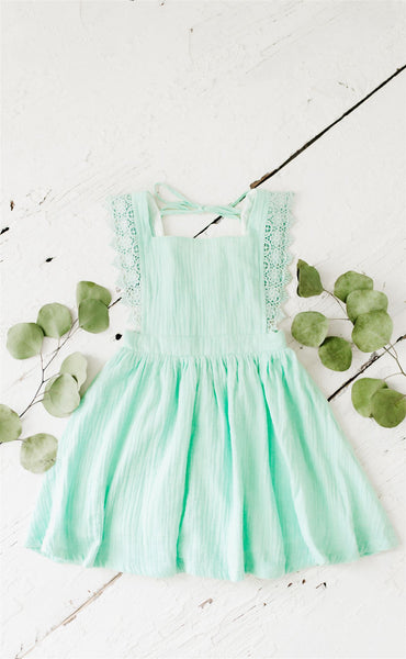 Ada Gauze Dress - Fresh Mint (Pre-Sale)