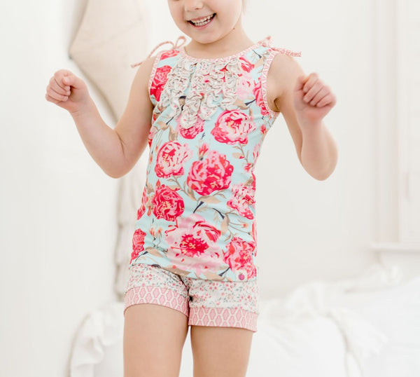 Loungewear Set - Poppy Petals