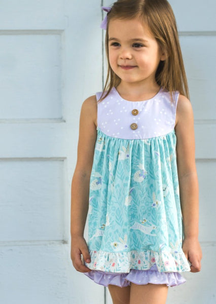 Gabrie Tunic Set- Cottontail Farms (Pre-Sale)