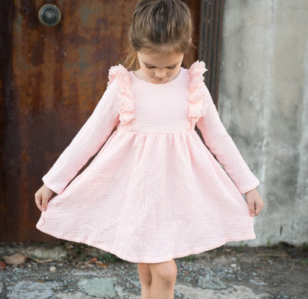 Reese Gauze Dress - Ballet Slipper