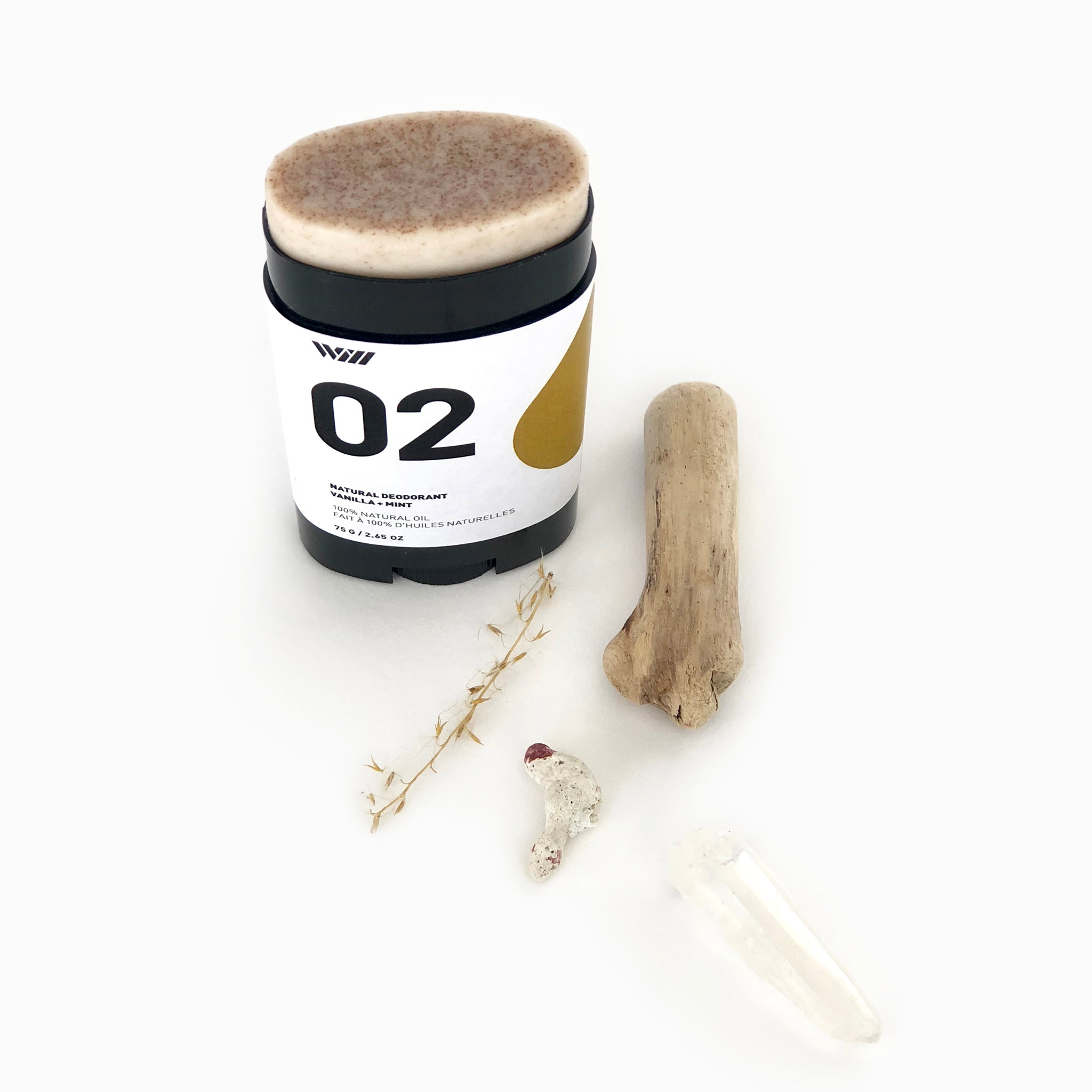 Natural Deodorant - Vanilla + Mint