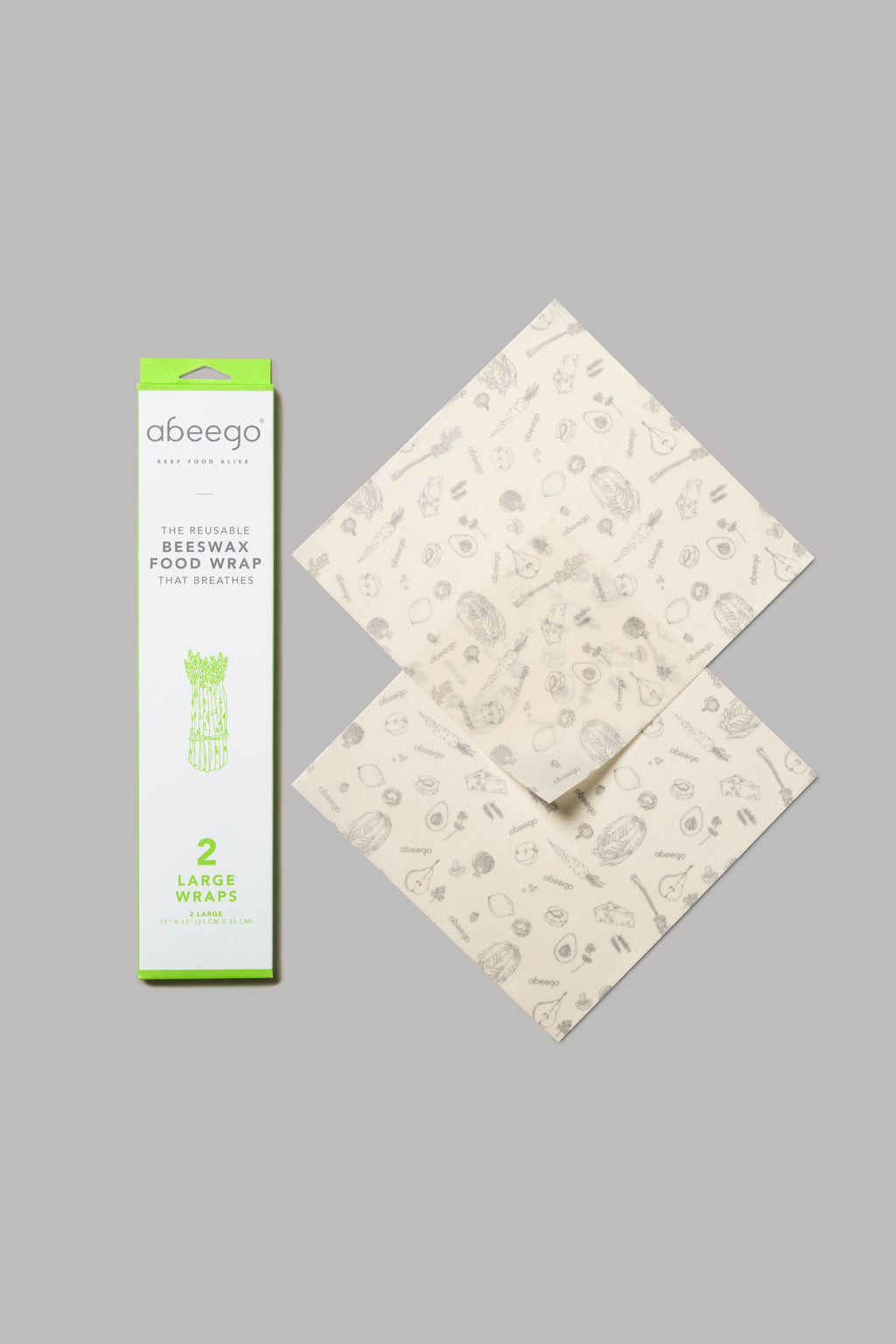 Beeswax Storage Wrap - Large