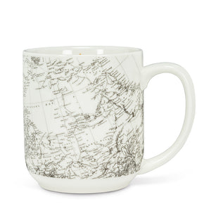 Mug - Canada Map & Curling