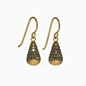 H&B Sparkle Drop Earrings - Holiday Edition