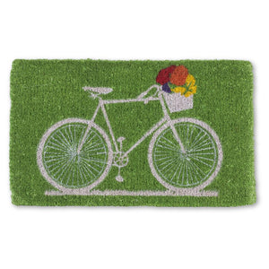 Doormat - Bike with Flowers