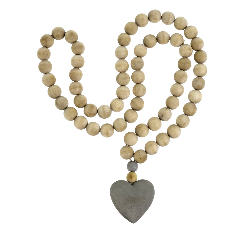 Prayer Beads - Heart Large