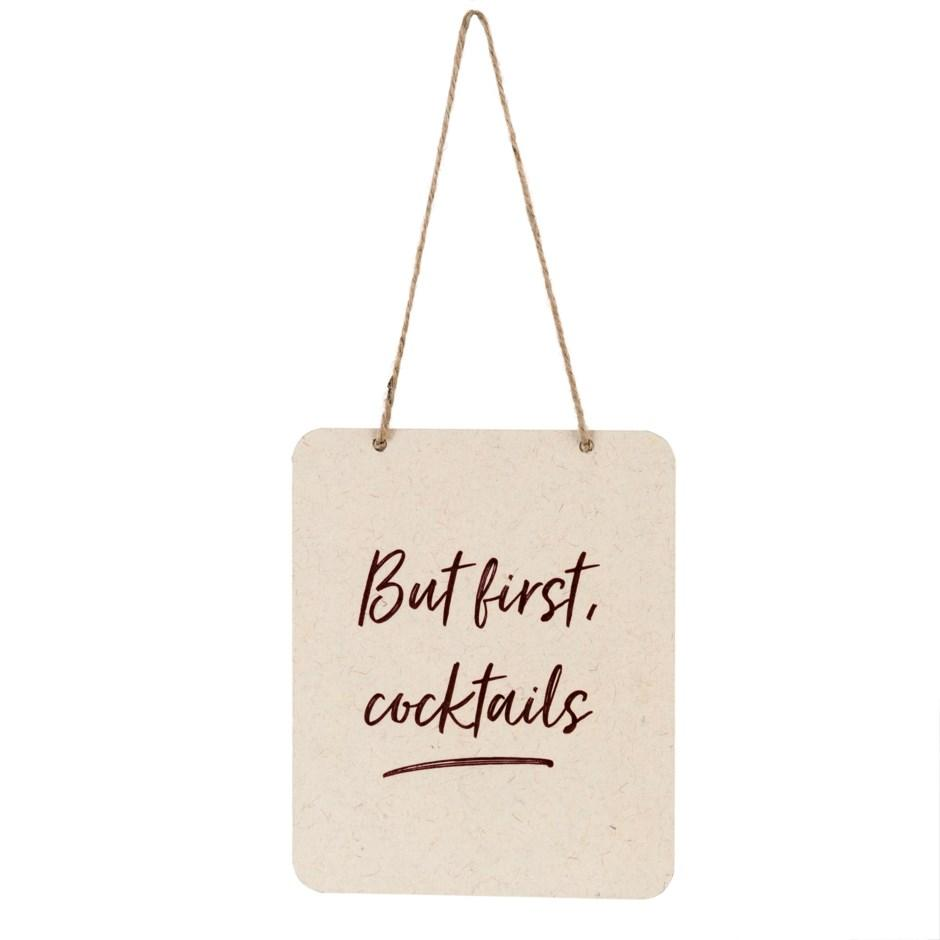 Sign - But First, Cocktails