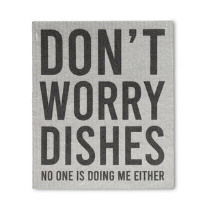 Swedish Cloth - Don't Worry Dishes