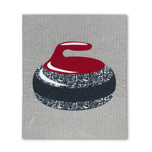 Swedish Cloth - Curling Rock