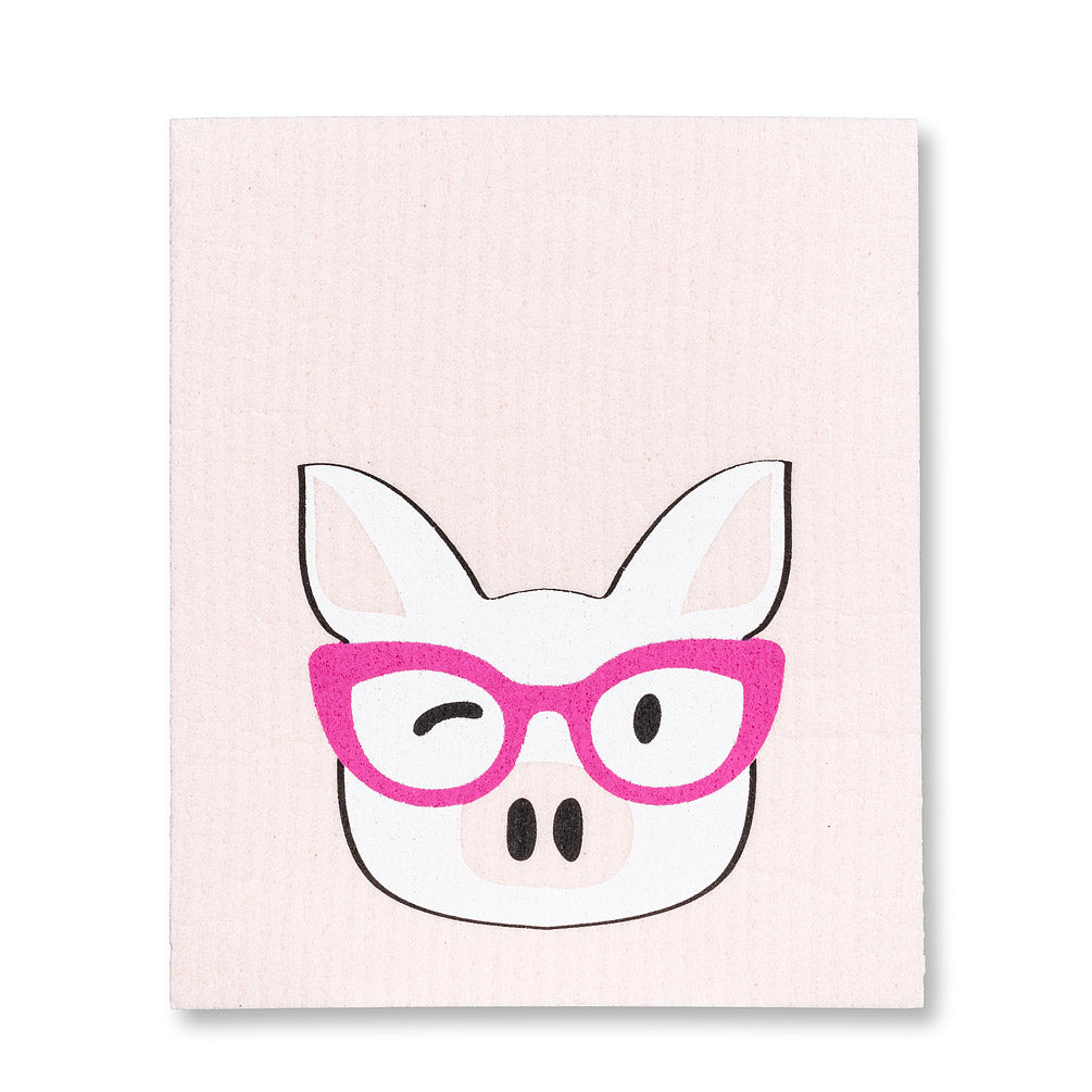 Swedish Cloth - Blush Smarty Pig
