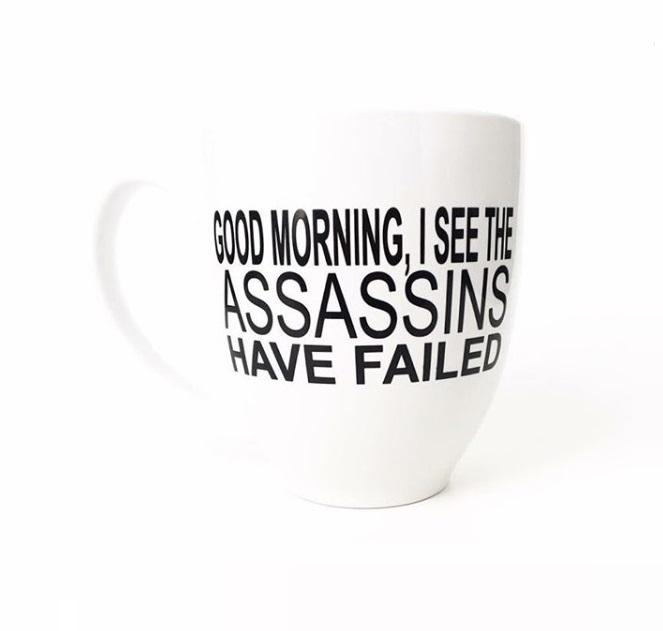 Mug - Assassins Have Failed