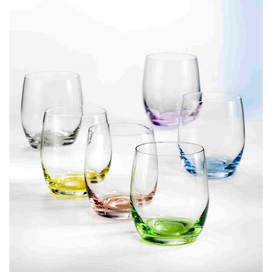 Rainbow Highball Tumbler s/6