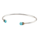 Load image into Gallery viewer, Pyrrha Capped Attraction Bangle - Friendship