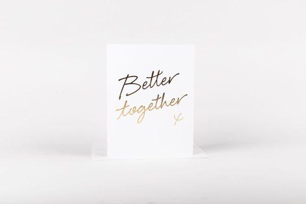 W&C Cards - Better Together
