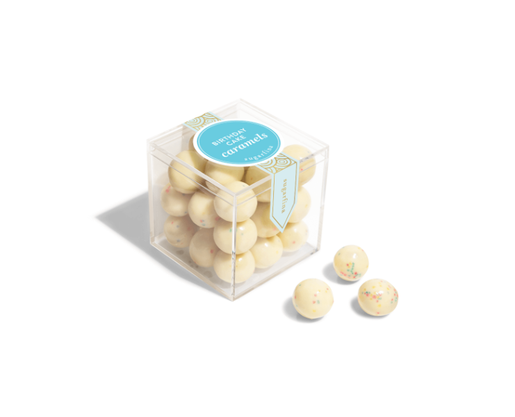 Sugarfina Candy Cube - Birthday Cake Caramels