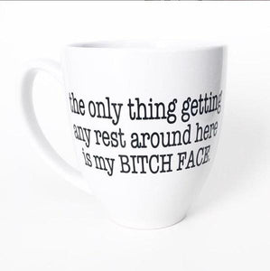 Mug - Only Thing Getting Rest