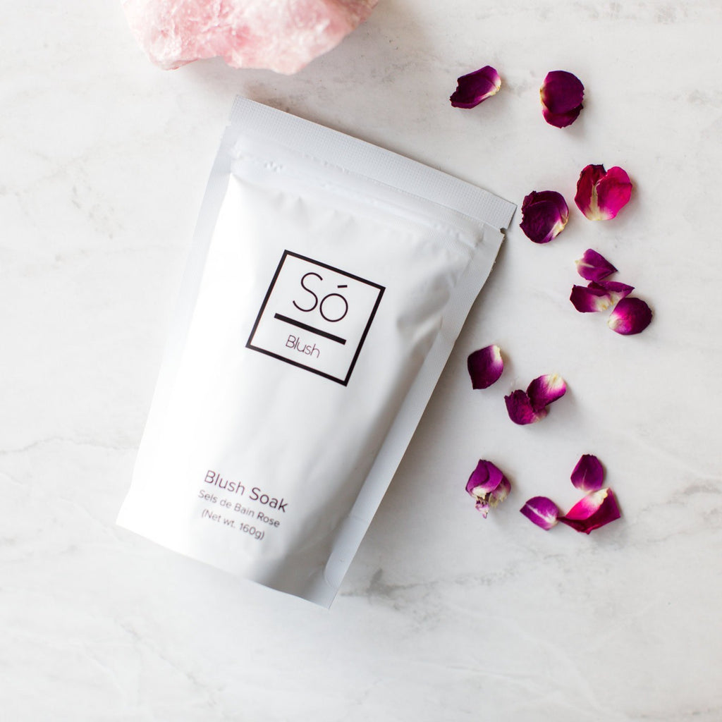 Só Luxury Bath Soak - Blush