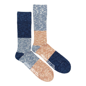 Men's Camp Socks - Glacier Sunset