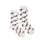 Load image into Gallery viewer, Women's Crew Socks - Dog Sweater