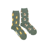 Load image into Gallery viewer, Women's Crew Socks - Lions Tigers
