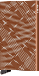 Load image into Gallery viewer, Cardprotector - Laser Tartan Rust
