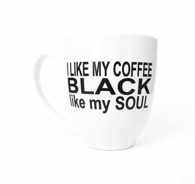 Mug - I Like My Coffee Black