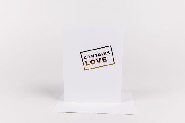 W&C Cards - Contains Love
