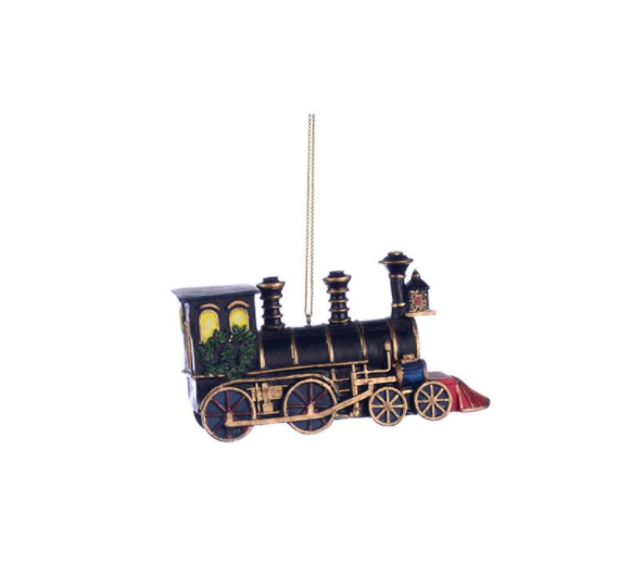 Ornament - Locomotive Navy Top