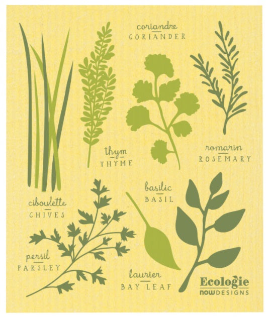 Swedish Cloth - Fine Herbs
