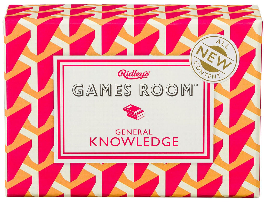 Ridley's General Knowledge Quiz