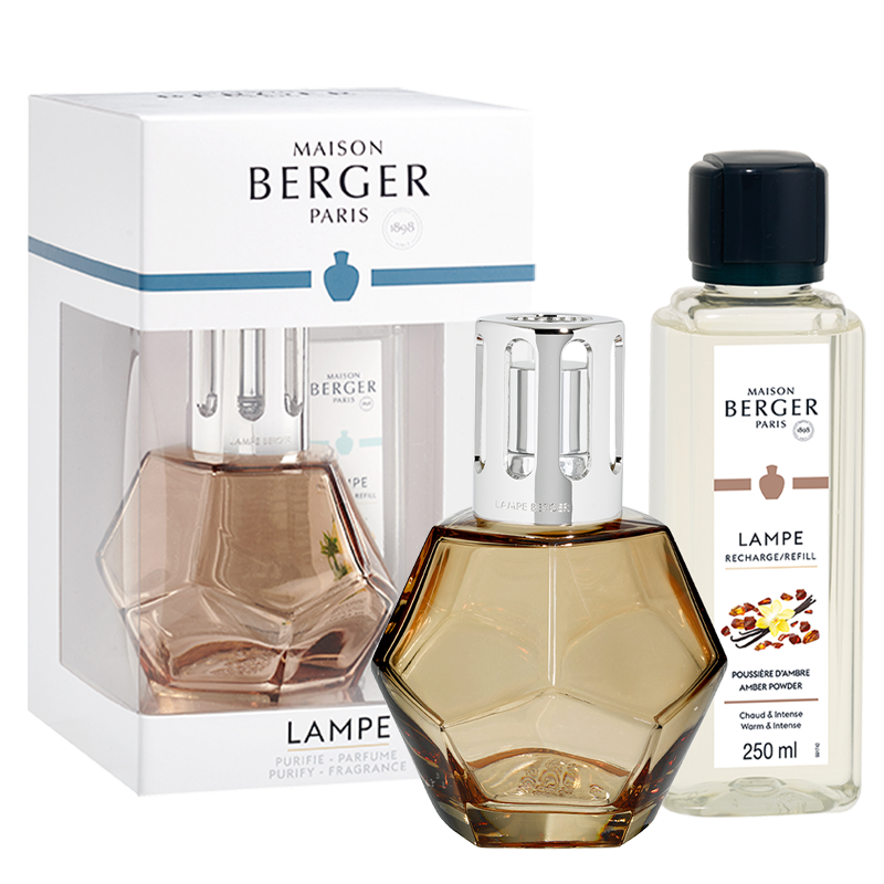 Maison Berger - Lamp Set Geometry Honey