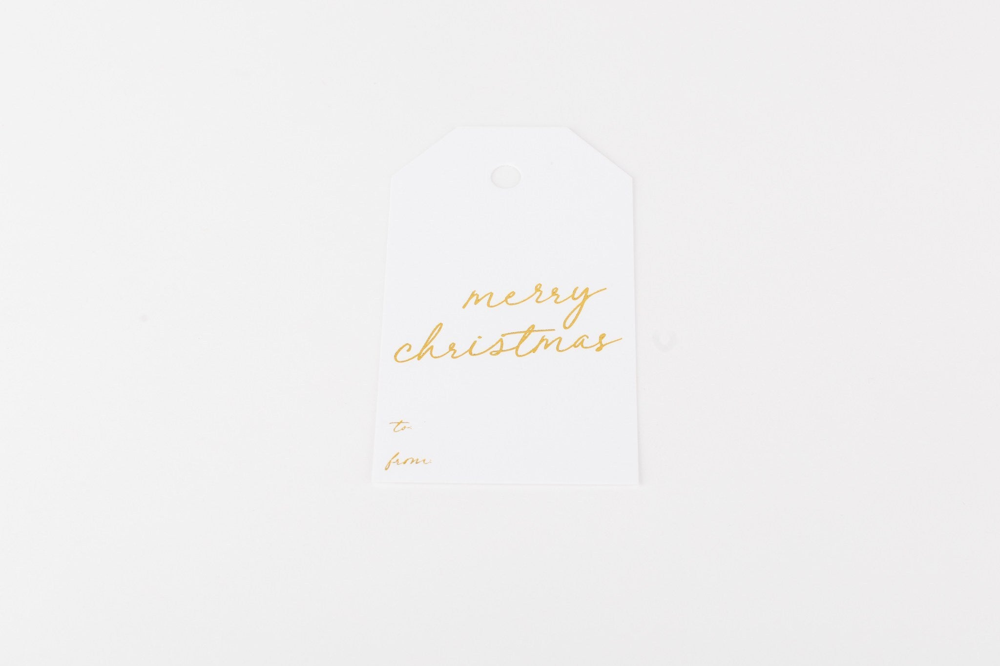 W&C Gift Tag - Merry Christmas